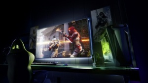 Artwork eines Big Format Gaming Displays