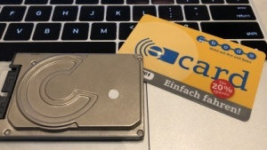 Unsere Bodo eCard ist schon da.