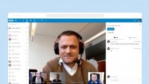 Nextcloud Talk in Aktion.
