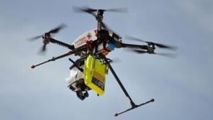 Eine Drohne vom Typ Stellar X1000