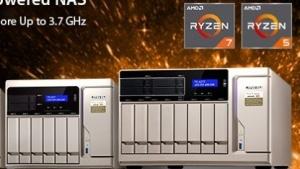 Qnaps TS-x77 kommt mit Ryzen-CPU.