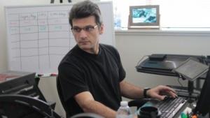 IT-Experte bei der Arbeit