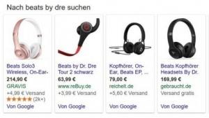 Google dominiert noch immer die Produktvergleichsuche.