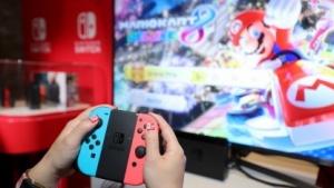 Mario Kart 8 Deluxe auf der Nintendo Switch