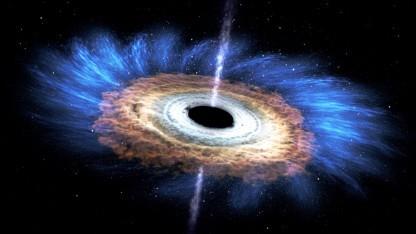 Schwarzes Loch: zu viele Daten