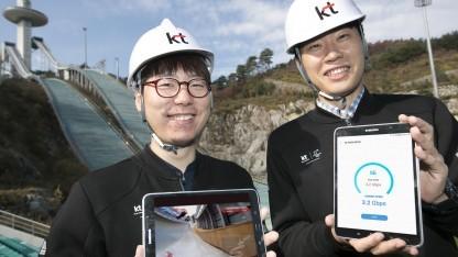 Erste Speedtests in Südkorea