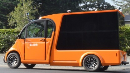 Autonomer Lieferwagen