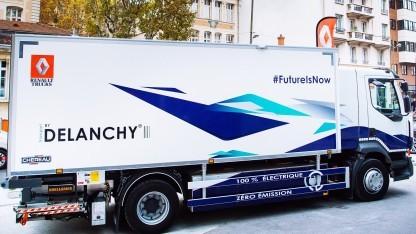 Auch Renault will Elektro-Lkw bauen.
