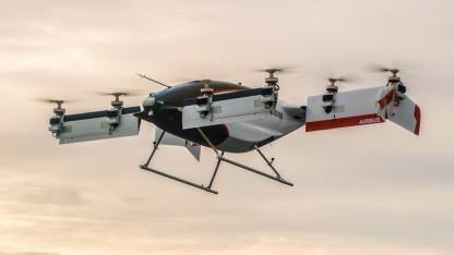 Autonomes Fluggerät Vahana: Testflug vor Vertretern der US-Luftfahrtbehörde Federal Aviation Administration (FAA)