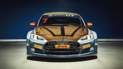 Tesal Model S im Renntrimm: Konkurrenz kommt.