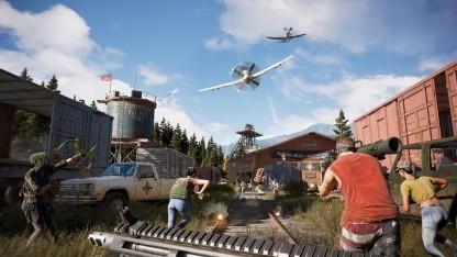 Far Cry 5 schickt Spieler in die US-Provinz.