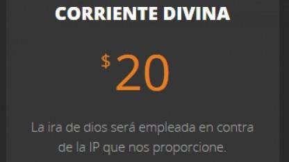 Das Botnetz wird für 20 US-Dollar angeboten.