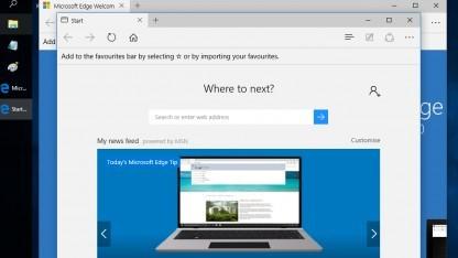 Der neue Microsoft-Browser Edge