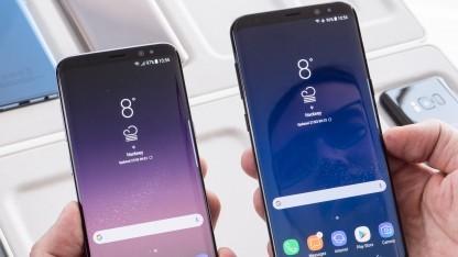 Das Update für das Galaxy S8 und das Galaxy S8+ ist aktuell nicht mehr erhältlich.