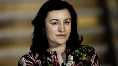 Die Staatssekretärin Dorothee Bär während der Koalitionsverhandlungen