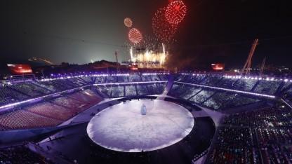 Eröffnung der Olympischen Winterspiele 2018: WLAN im Stadion ausgefallen