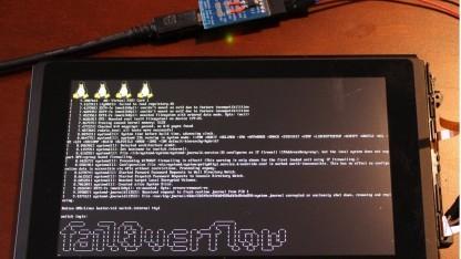 Auf der Switch läuft jetzt auch Debian.