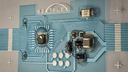 Ein solcher Mikrocontroller soll sich biegen lassen können.