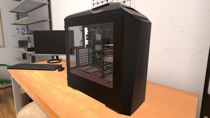 Ein Rechner im PC Building Simulator