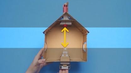 Nintendo Labo kombiniert Technik mit Pappe.