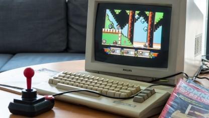 Sam's Journey auf einem C64 C