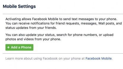 Facebook entschuldigt sich für unerwünschte Kurznachrichten per SMS.