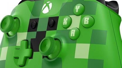 """Controller der Xbox One (Sonderauflage """"Minecraft"""")"""