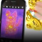 Cat S61 im Hands on: Smartphone kann Luftreinheit und Entfernungen messen