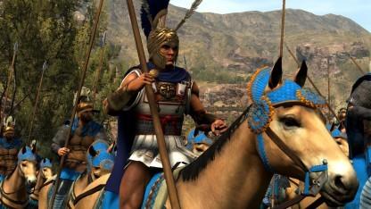 Alexander der Große führt eine der Fraktionen in Total War Arena an.