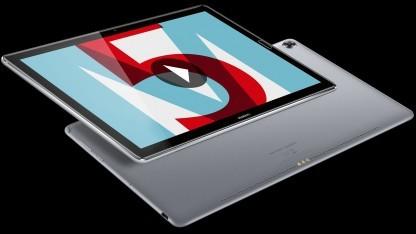 Das Mediapad M5 mit 10,8 Zoll großem Display
