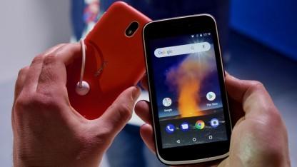 Nokia 1 läuft mit Android Go.