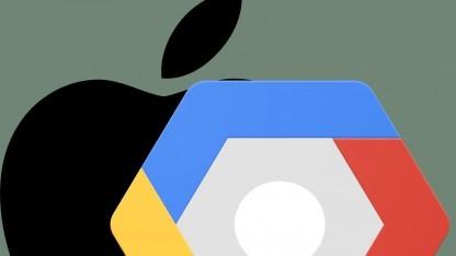Apple nutzt die Google Cloud Platform.