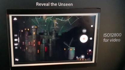 Das Sucherbild von Sonys neuem Dualkameramodul