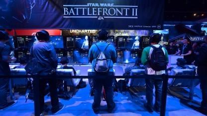 Star Wars Battlefront 2 auf der US-Spielemesse E3 2017