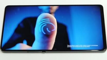 Apex-Smartphone hat besonders dünne Displayränder.