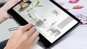 Das Vivobook Flip 14 kann auch als Zeichengerät verwendet werden.