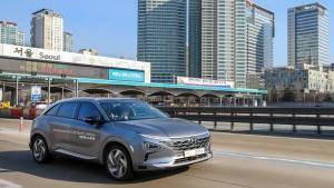 Autonomes Brennstoffzellen-Auto