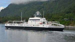 Elektrofähre Ampere auf dem norwegischen Sognefjord: 53 neue Aufträge für die Werft