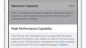 Neue iOS-Funktion Akkugesundheit