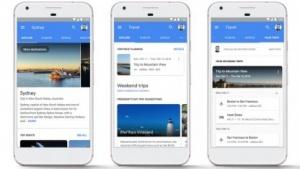 Die neue Reisesuche von Google