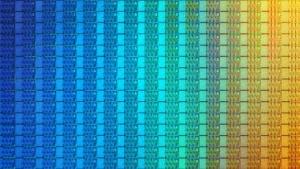 Wafer mit KBL-R-Chips
