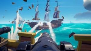 Sea of Thieves versetzt Spieler in eine bunte Piratenwelt.