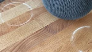 r ckst nde homepod macht wei e ringe auf holzm beln. Black Bedroom Furniture Sets. Home Design Ideas