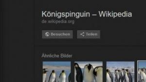 Der Direktlink auf Fotos ist bei Googles Bildersuche verschwunden.
