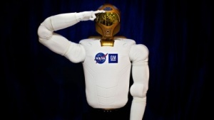 Humanoider Roboter Robonaut 2: kein Erdungskabel