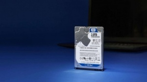 Blue PC Mobile Hard Drive mit 2 TByte