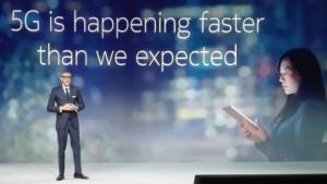 Nokia-Chef Rajeev Suri am 25. Februar 2018