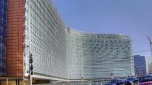 Das Hauptgebäude der EU-Kommission in Brüssel