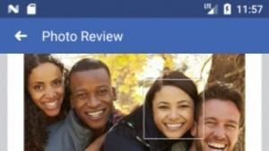 Gesichtserkennung auf Facebook