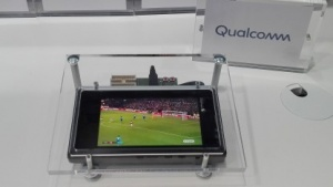 Laut Nokia ein 5G-Tablet von Qualcomm auf dem MWC 2019 in Barcelona